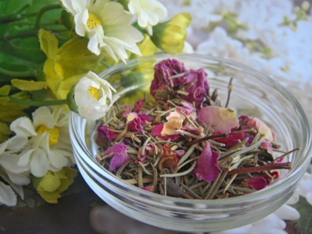 有機粉紅玫瑰花茶 | Organic Pink Rose herbal tea